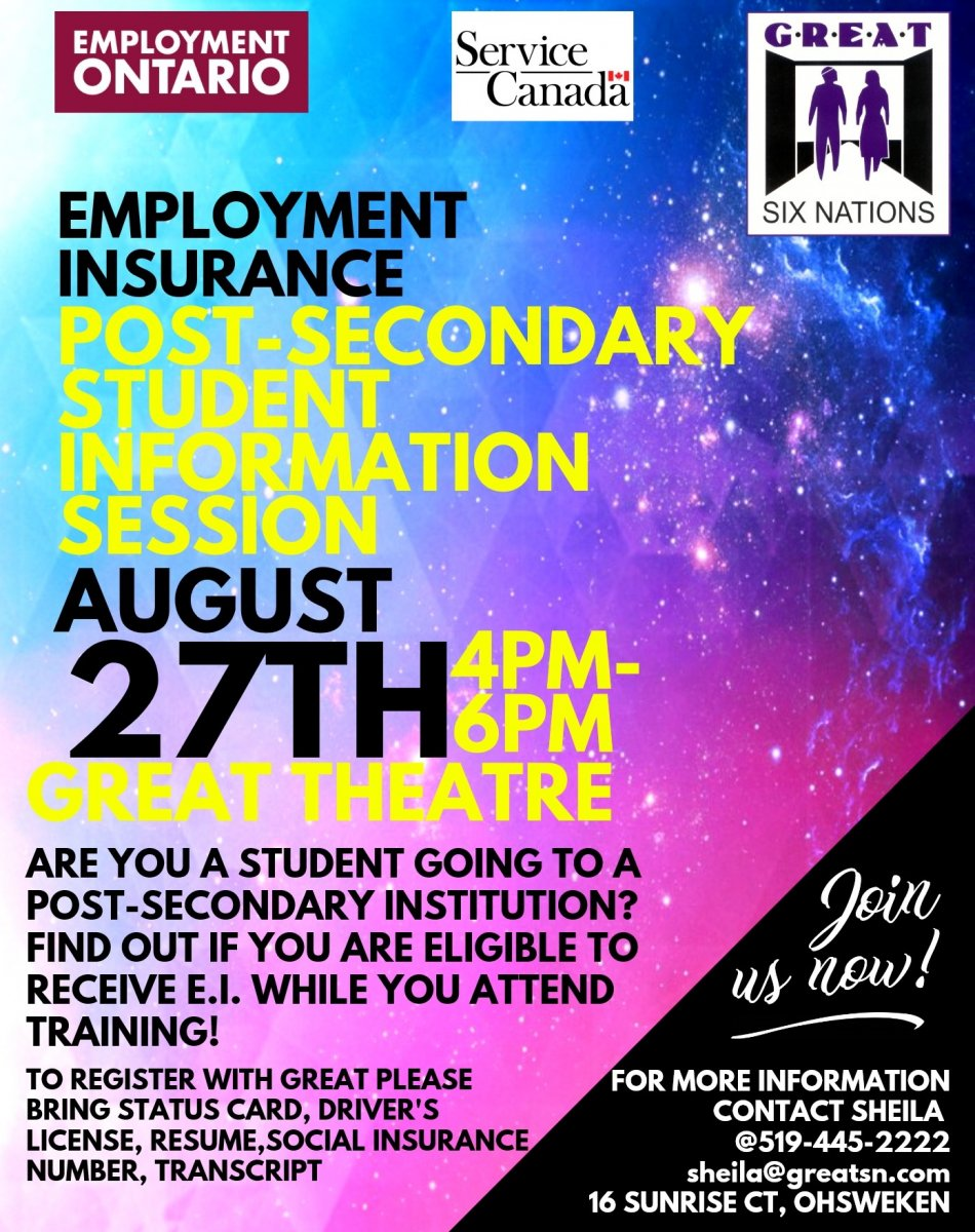 You may be eligible to obtain E.I while in school. Check it out flyer for more information